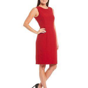 KASPER Sheath Sleeveless Dress Sz 8 H004